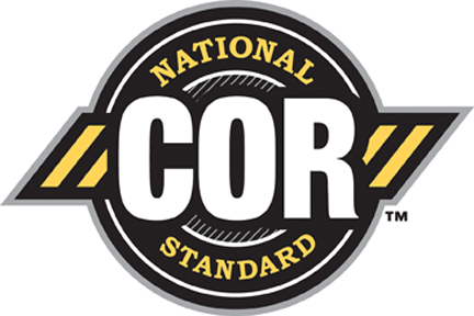 COR™ Logo (Yellow and Black)