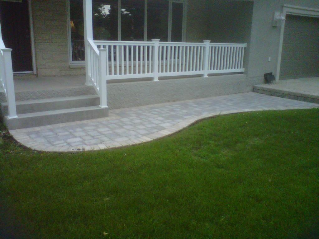 Res Paving Stone Sidewalk 02
