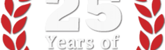 Celebrating our 25th year in business