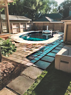 Veert Landscaping Inc. - Pool Patio - Paving Stone - 2